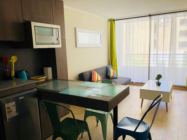 Cozy apt in Santiago Centro. Enjoy it!