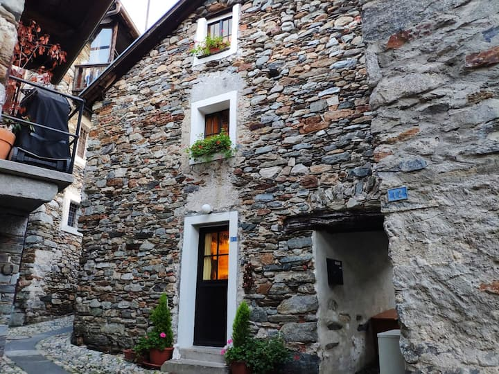 B&B in an old style small stone built house