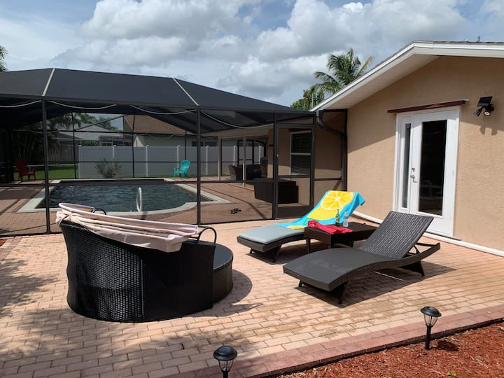 Fisherman's & Boater's Dream Pool Home&Gulf access
