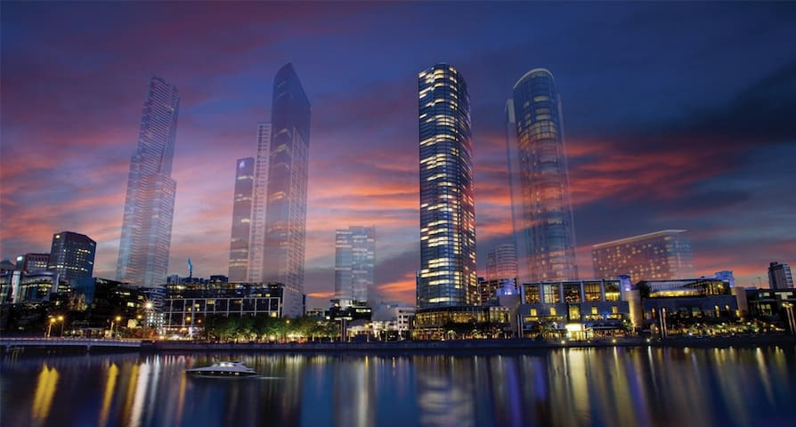 six star Southbank Luxury 2 bedroom apartment - Southbank - Pis