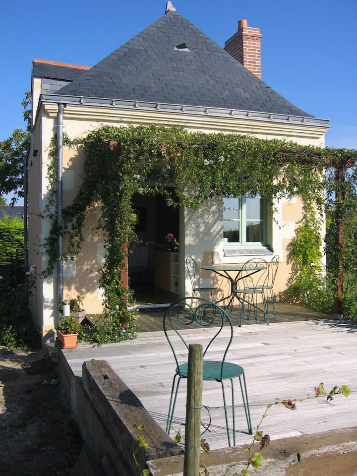 """Maison de vigne en Anjou, gîte """"La Société"""""""