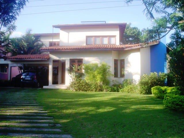 Casa de campo no pé da Serra do Japi - Portal da Concórdia - บ้าน