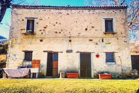 Villa with a stunning view - Brienza