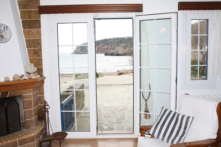 Seaside Maisonette - Amazing Aegean sea view - Zarakes - Haus
