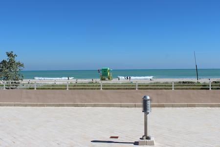 Gorgeous Beach frnt, topFloor overlooking Ocean dr