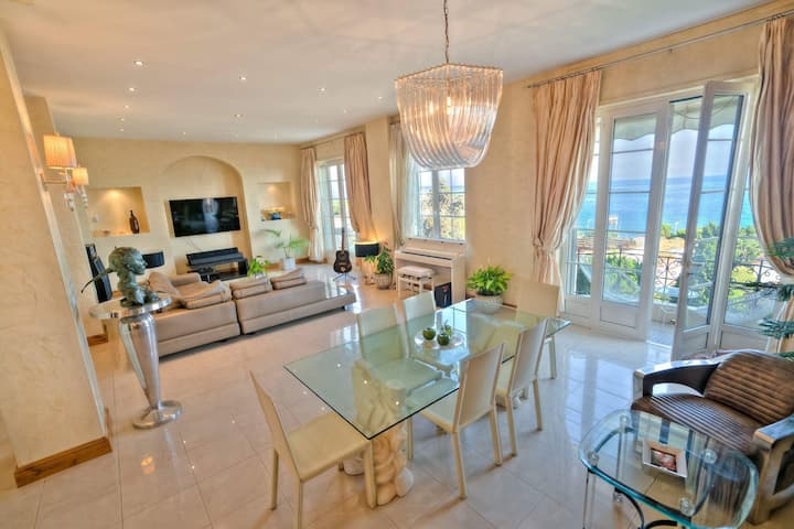 Beautiful Luxury Apartment, Panoramic sea view