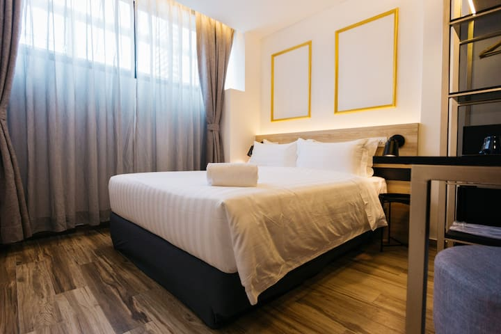 Deluxe Double Room near Central Market Kl