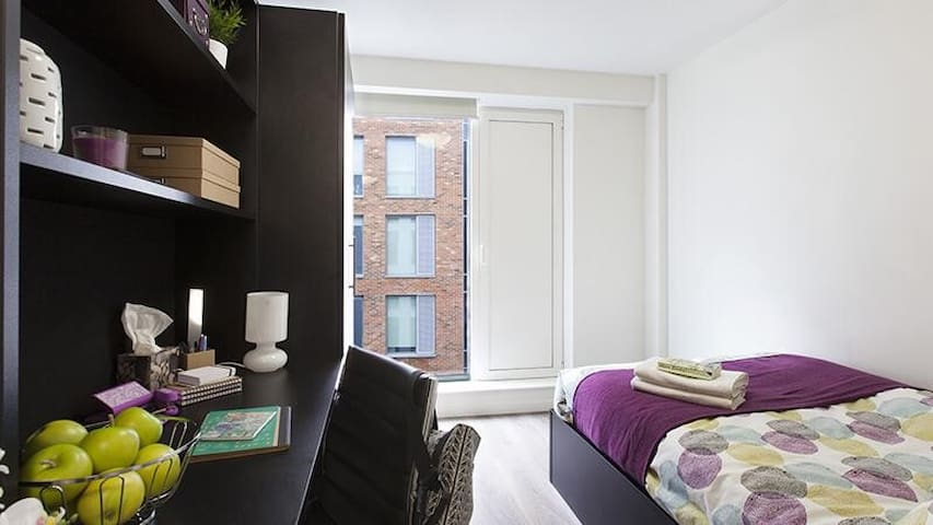 Ensuite student accommodation withprivate bathroom