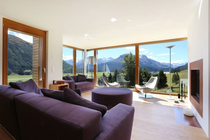 Chalet with incredible views
