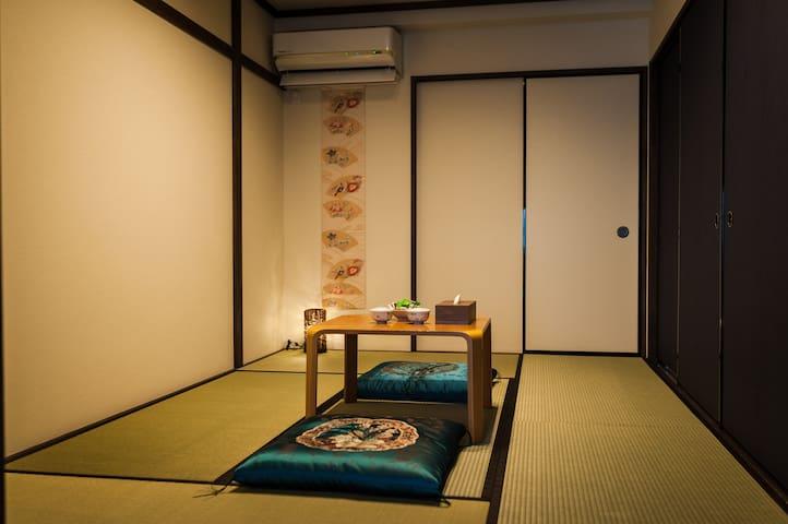 Bedroom. 榻榻米房间。