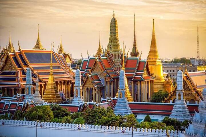 Grand palace-Khaosan Road-Laying Buddha-Old town