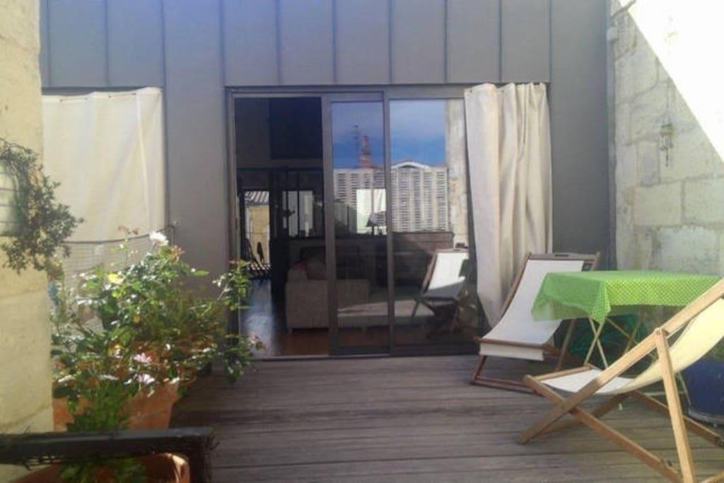 Chambre priv e maison architecte houses for rent in bordeaux aquitaine france - Maison architecte mark dziewulski ...