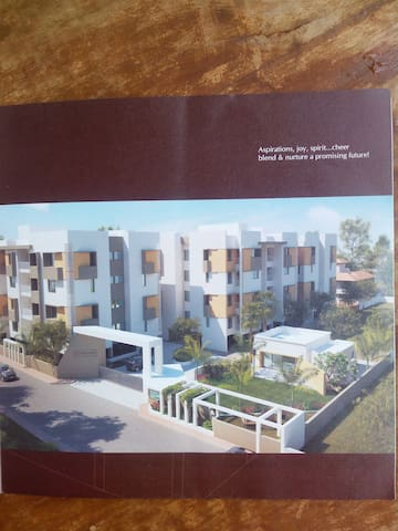 Two Bedroom Apartment with all facilities. - Vadodara - Apartment