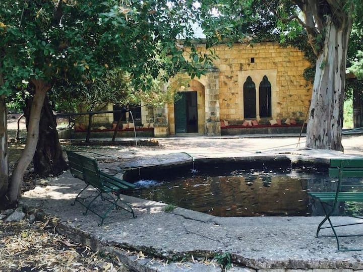 Chouf Bater 300 year old dream house with garden