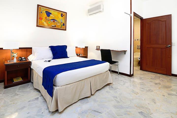 Habitación Movilidad Reducida Hotel Dulima Ibagué