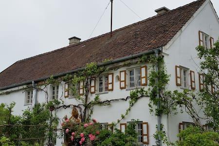 Viel Raum, Grün & Kunst in historischem Bauernhaus