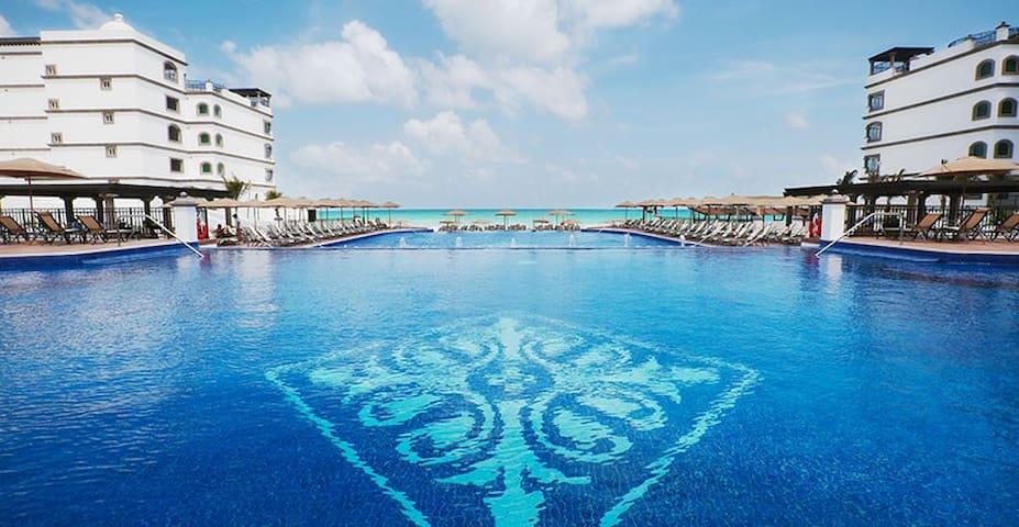 Villa de super lujo frente al mar en Cancùn!!