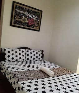 Chic room with double size bed, bath and free wifi