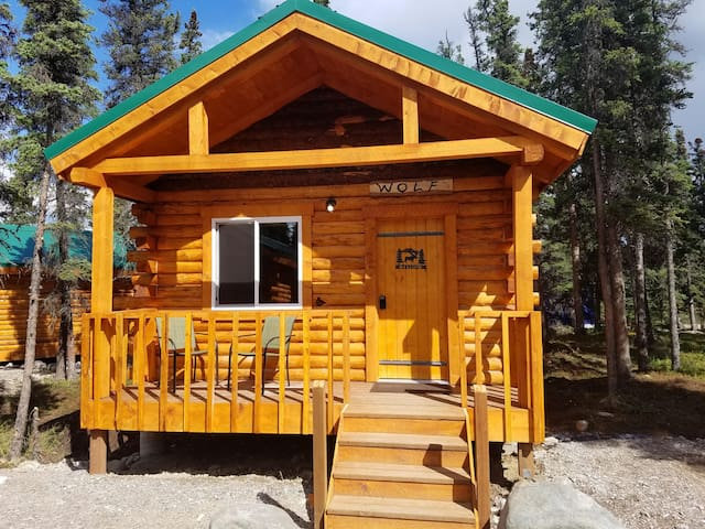 Cozy Wolf Cabin