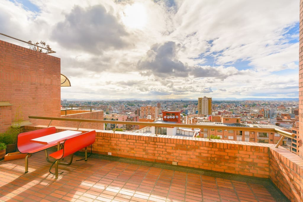 Amazing view of Bogota!