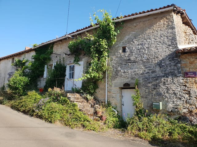 Romantic cottage in beautiful Nanteuil-en-Vallee