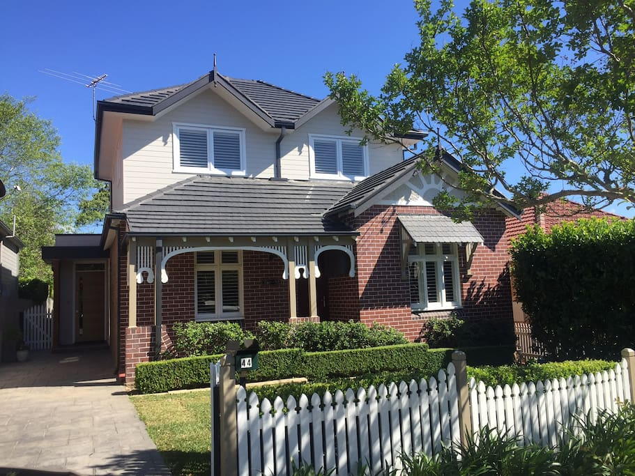 Easy access to house with off street parking