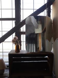 Rustic attic room in Arts Warehouse - Northcote