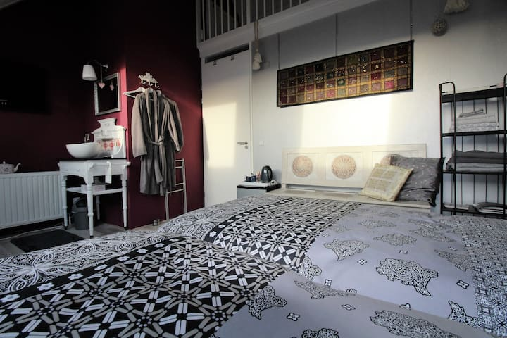 Comfortable  nice room 1-4 pers. in Zwolle centre - Zwolle - Bed & Breakfast