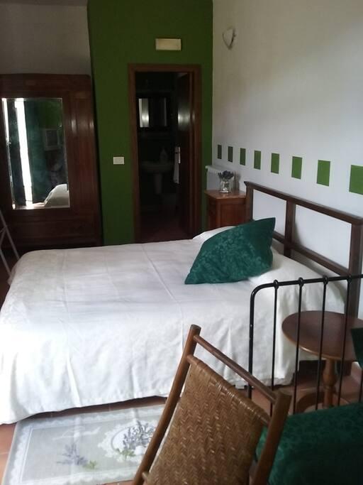 La stanza nella camera verde