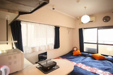 Only 8 minute from Hakata station!! - Daire