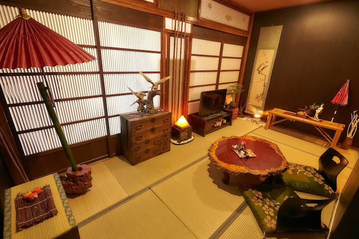 Traditional cool house【禅】in Shinagawa