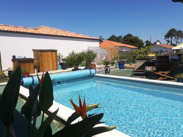 Sweet Casa Azul & Spa - Mimizan Plage - Landes