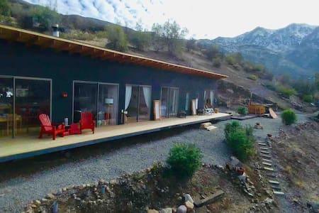 Refugio super vista Fdo San Francisco de los Andes