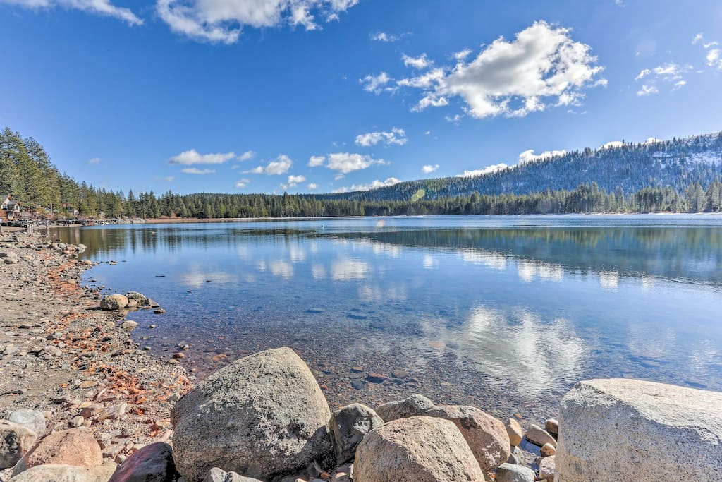 This is a slice of Lake Tahoe paradise!