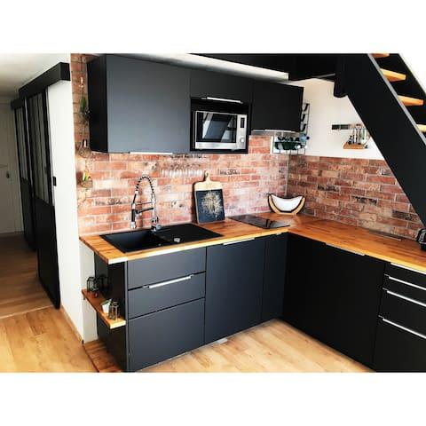La cuisine a été rénovée en Septembre 2018 pour vous offrir une expérience meilleure