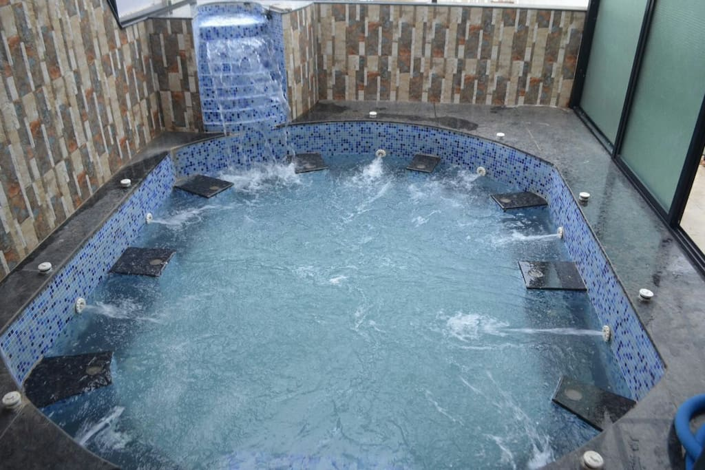 Private Jacuzzi at the property