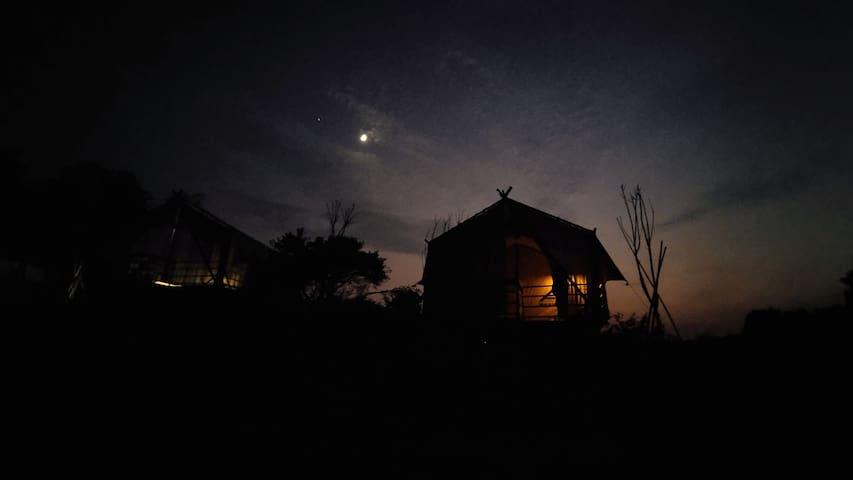 雲湖仙境-野奢帐篷4间
