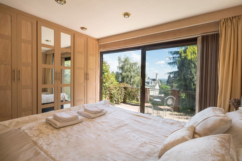 Master Bedroom with Ensuite Shower Room & Terrace