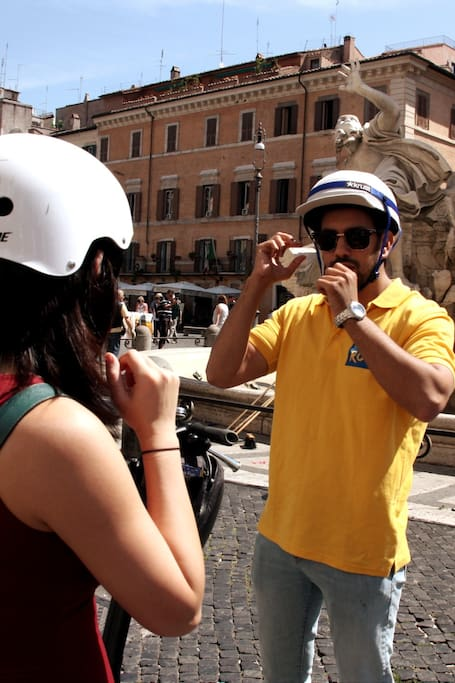 A Must See of Rome on Segway