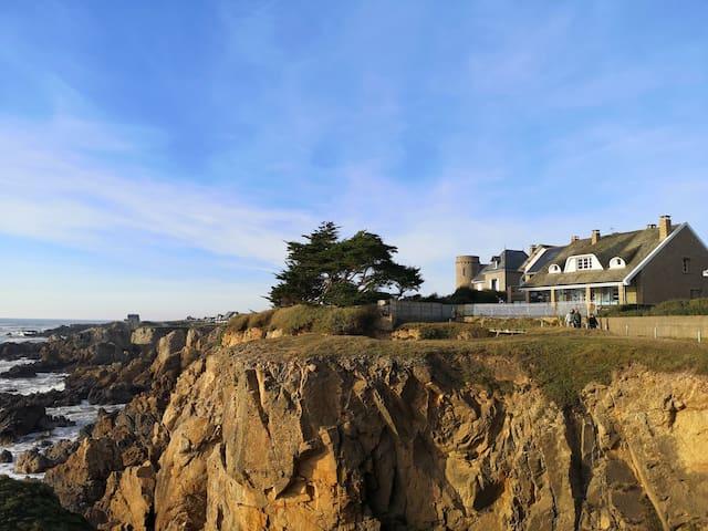 Ker Phi Phi : Villa avec vue magnifique sur la mer