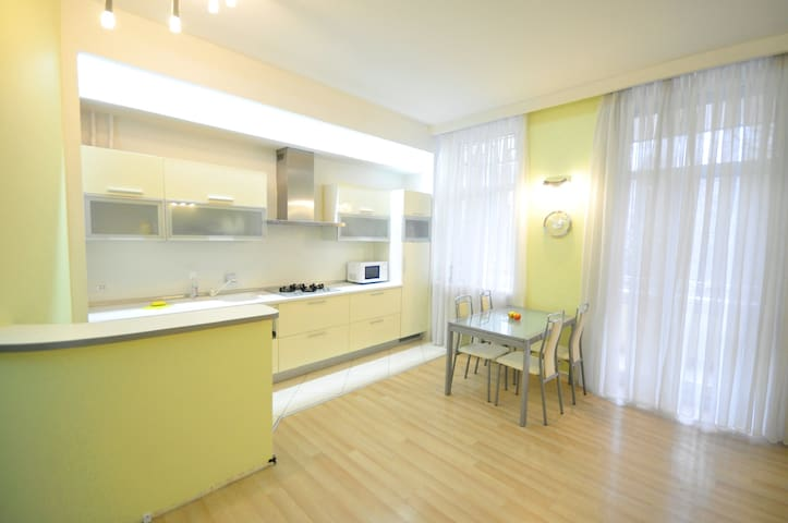 Gorgeous apartment steps away from Deribasovskaya