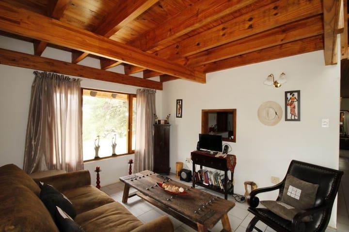 Open sitting room