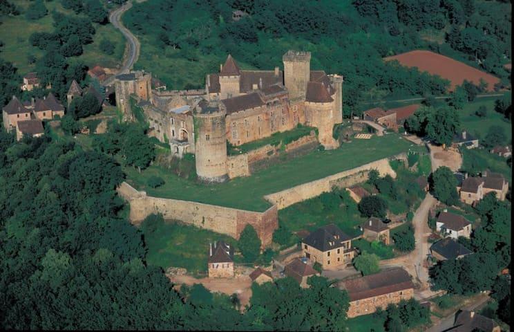 Studio des remparts du Chateau de Castelnau