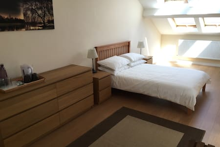 Huge bedroom in penthouse, 10 mins to city centre! - Bath - Appartamento
