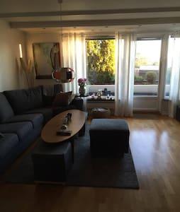 Rooms in a modern appartment in Holmenkollen Oslo. - Oslo - Apartamento