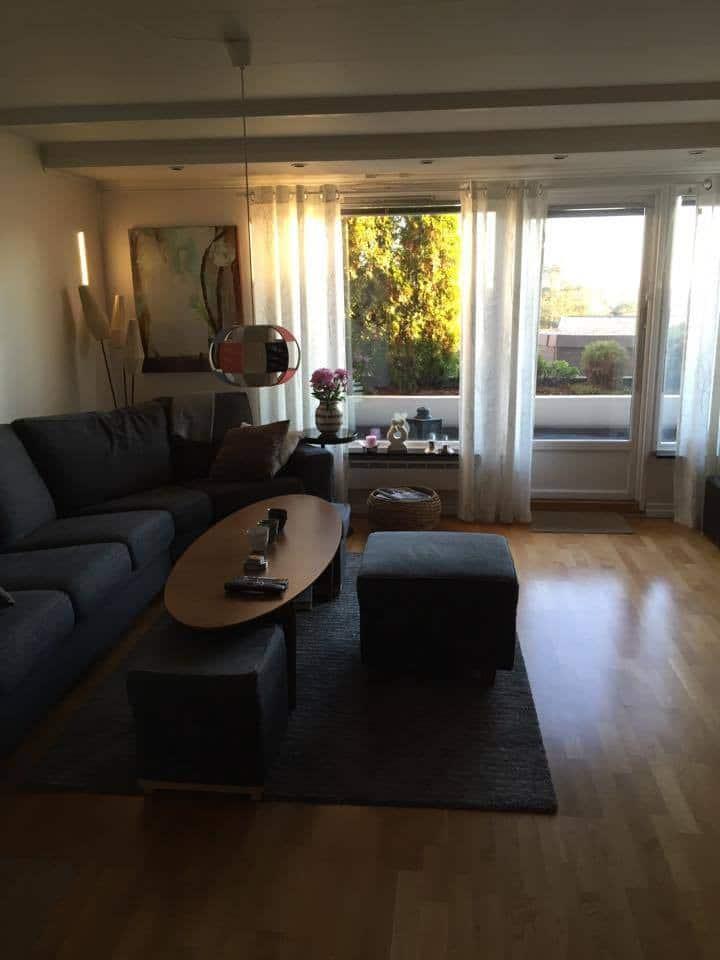 Rooms in a modern appartment in Holmenkollen Oslo.