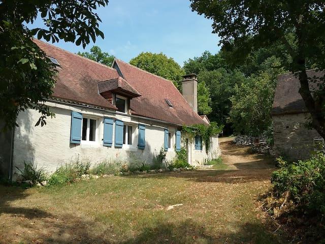 Maison lotoise proche Rocamadour, Padirac,Sarlat