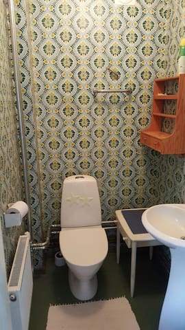 Small bathroom. Floor 1