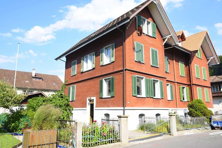 Apartment In Interlaken Near Train Station
