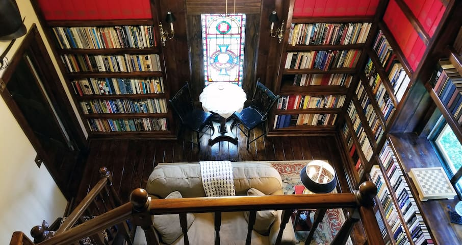 Camp Arden: The Library